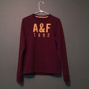 Abercrombie and Fitch men's long sleeve shirt
